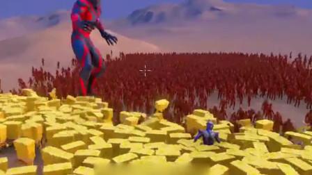 2000个闪电侠挑战2000个海绵宝宝,结局太气人!