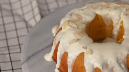 好吃又好看的南瓜戚风蛋糕,制作简单,美味十足