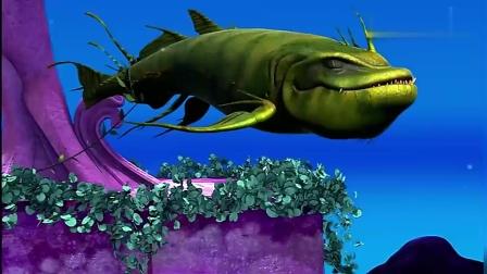 玛利亚冲浪计划对付大鳄鱼,大使一起合作,玛利亚终于坐上王座了