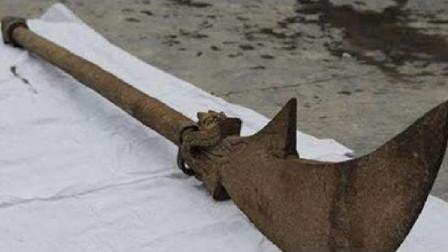 關羽墓出土詭異偃月刀,被4根鐵鏈鎖住,專家:傳說竟是真的!