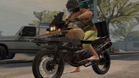武器合成系统:摩托车和大菠萝进行改装,简直是灭队神器