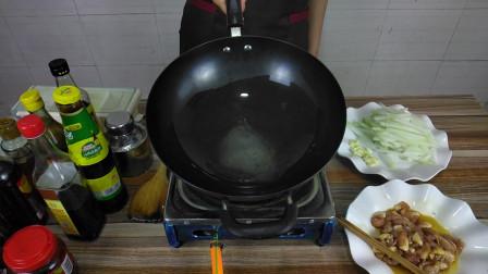 冬瓜炒肉丝,夏季家常菜,一起来制作这道简单的美食吧