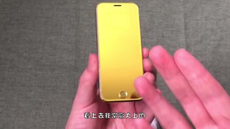"""狠心买的""""黄金iPhone""""开箱,拿上手的一瞬间,我立马不淡定了!"""