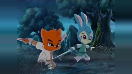 """虹猫蓝兔:""""排山倒海""""让虹猫和蓝兔吃尽苦头"""