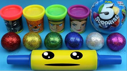 【玩具果冻】用闪光球学习颜色!为幼儿制作冰淇淋惊喜玩具