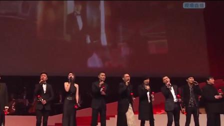 香港明星齐唱《夕阳之歌》致敬怀念梅艳芳,歌迷心中永远的痛!