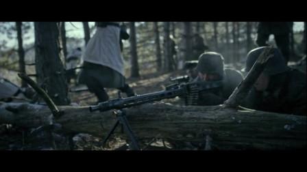 一部真实残酷战争片 两军交火 机枪扫射毫不留情
