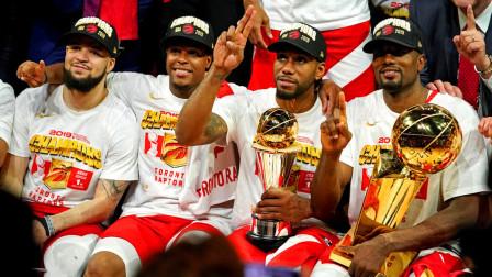 NBA2K19总决赛:勇士vs猛龙第六场!猛龙总冠军!莱昂纳德FMVP!