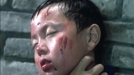 国产经典动作片《给爸爸的信》,黑帮老大考验小弟,被迫掐死自己儿子