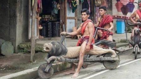 菲律宾神秘摩托车,不烧油不耗电时速50公里,骑着出门扛着回家