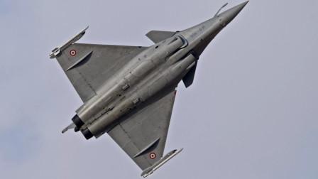 印度羡慕了,卡塔尔5架阵风战机到货开心展示