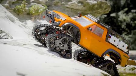 Traxxas 新品 TRX-4 Equipped with Traxx