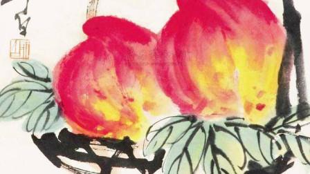 应粉丝的要求,老师激情讲解《寿桃的画法》(下)