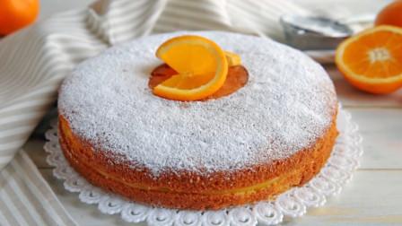 生日蛋糕不用买了!教你自己在家用橙子就能做,酸酸甜甜好美味