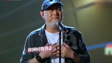 火风霸气演唱《一无所有》,霍尊坐在台下露出崇拜的表情