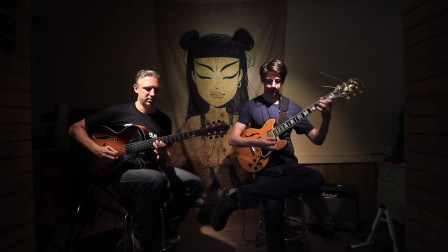 【郝浩涵梦工厂】Jazz Time,Guitar player:Ben & Masidao-Martino