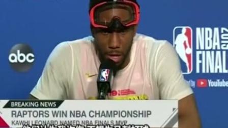 猛龙NBA夺冠后,莱昂纳德谈马刺:让我很失望!他们认为我炸伤