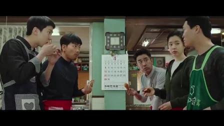 韩国原版龙虾刑警,警局旁边的炸鸡店是这个警察开的!