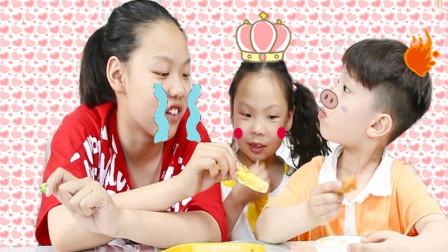 """妈妈自制金黄酥脆""""黄金饼""""遭姐弟三人""""哄抢""""为妈妈点赞!"""