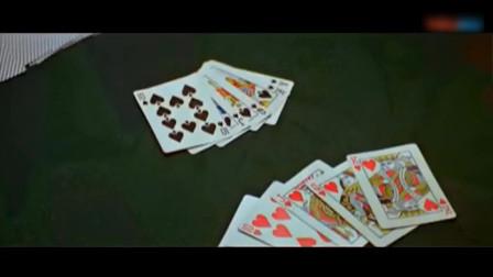 引赌魔入局,最后赌神开底牌,甩手就变出一把同花顺