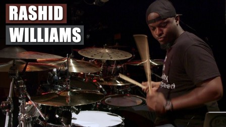 ★ME威律动★Rashid Williams - Rock Out - UK Drum Show 2018