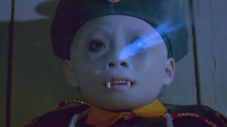 一眉道人:小僵尸睡着了,阿方阿豪俩逗他玩,尸变了