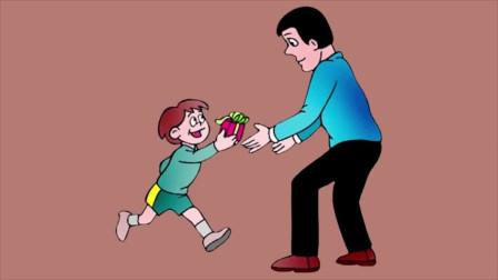 儿童启蒙早教:教你画苹果派蛋糕,一起享用美食吧