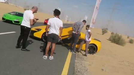这辆650匹马力的迈凯轮被卡路边3个小时,要拖车救场,这是怎么回事?