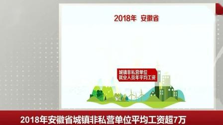2018年安徽省城镇非私营单位平均工资超7万 每日新闻报 20190615 高清版