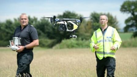 无人机用处大 竟然连警车都成立无人机小队破大案