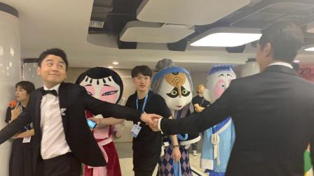 这就是娱乐圈 2019 雷佳音与胡歌擦肩 握手瞬间满脸表情包