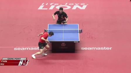 2019日本乒乓球公开赛 许昕4-3战胜师弟樊振东进决赛