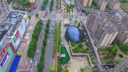 航拍贵州一个地级市,城市建设很好,发展前景巨大!