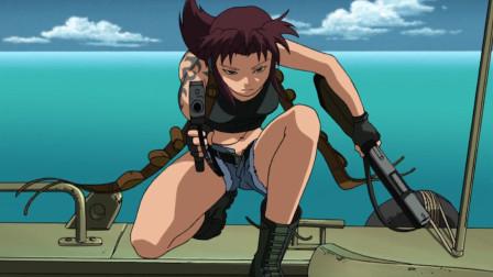 枪才是女人的浪漫,枪斗的暴力美学典范《黑礁》