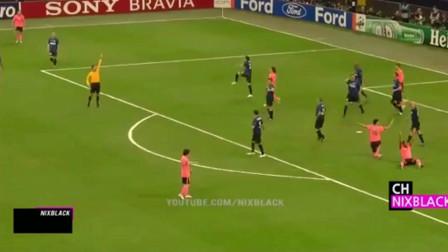 欧冠经典回顾:国际米兰完胜巴塞罗那,伊布的转会成了笑话