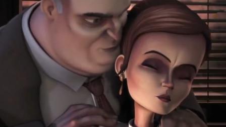 看到女同事被老板欺负,激起了男子的阴暗面,最终变成怪兽