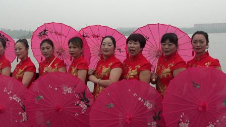 (六.一湖海塘旗袍秀)——长丰村黄泥塘自然村舞蹈队