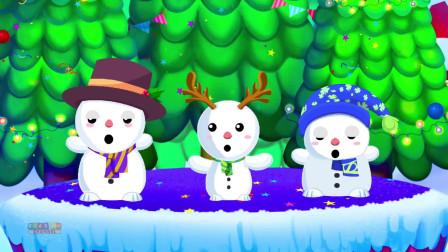 幼儿园五首小雪人童谣