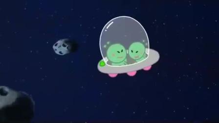 熊小米:外星人降落到地球,看到动物们,以为是怪兽呢
