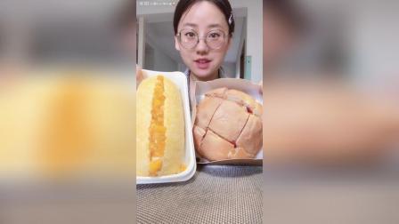 芒果奶昔面包蔓越莓面包, 好吃呢
