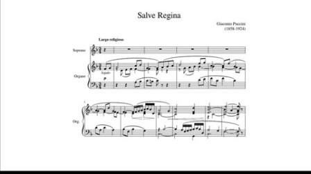 【小号】普契尼 圣母颂(Salve Regina)小号独奏