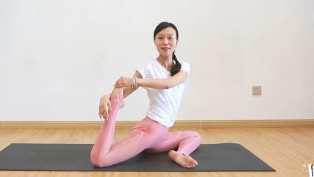 瘦腿瑜伽体式!有效减少腿部脂肪,坚持练习15天腿围一天比一天细