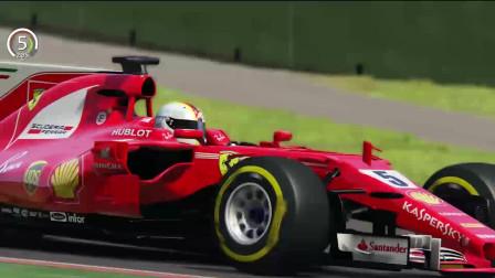 方程式赛车:法拉利F1 2017对日产GTR 2017