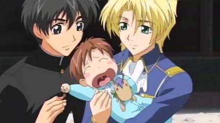不愧是帅哥,照顾婴儿都这么有一套,简直帅哭我!