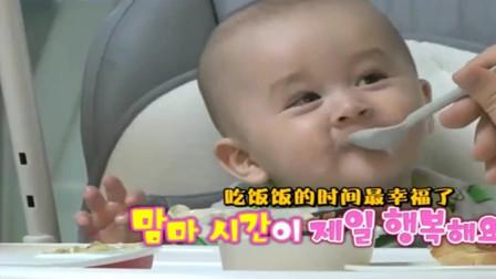 超人回来了:吃货本宝宝上线,吃货本特利看到吃的就笑了起来
