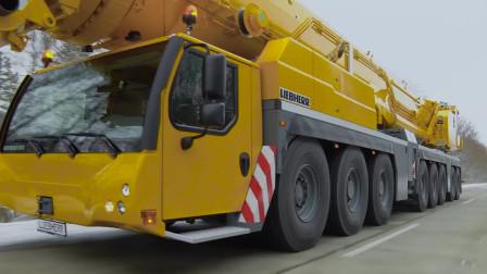 利勃海尔推出全新型号LTM1650-8.1全地面起重机