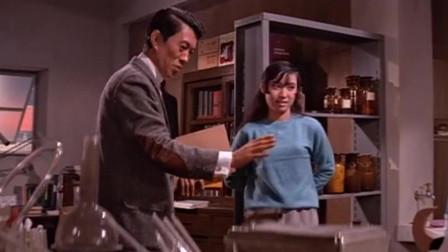 小萝莉到化学老师家里偷毒药,不料被撞上,萝莉被吓坏了