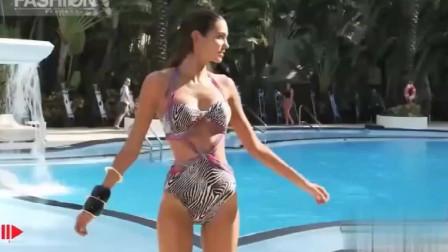 迈阿密时装周GOTTEX海滩泳装秀,美得无可救药,怎么办?