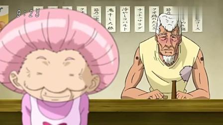 美食的俘虏:节乃和次郎吃臭氧草腌菜,这速度看得出两人的实力