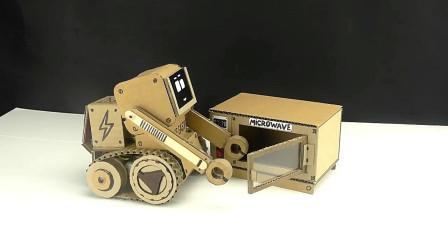 如何用儿童手工艺品制作迷你玩具微波炉?还能定时做美食